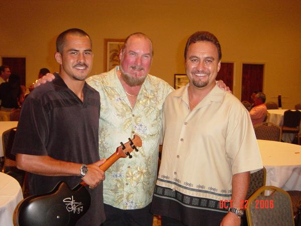 Performing for Steve Cropper with Rupert Tripp Jr.